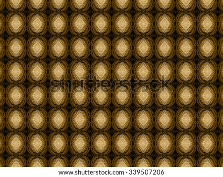 Islamic styled seamless pattern with thick and rich fabric texture - stock photo