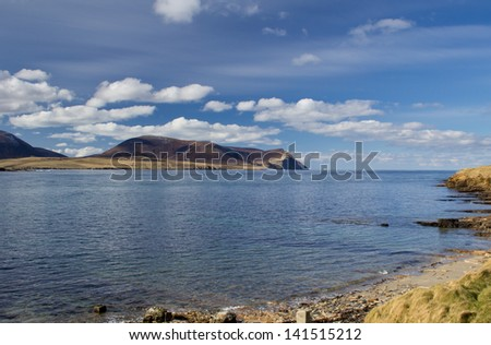 Island of Hoy, Orkney - stock photo