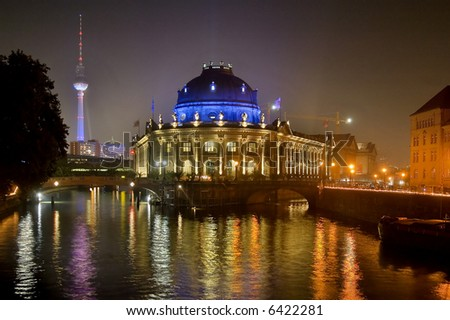 Island of Museums in the center of berlin