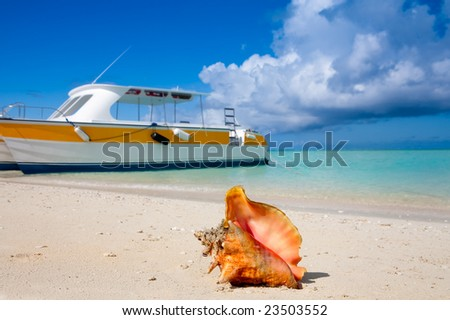 Island Tours - stock photo