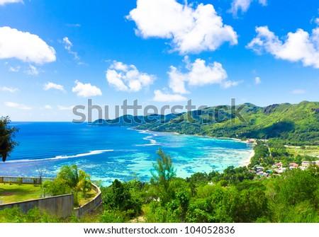 Islands Harbor Shore - stock photo
