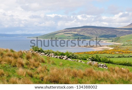 Isle of Arran - stock photo