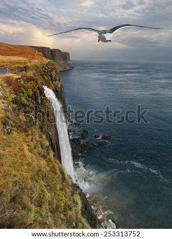 Isle of Skye, Scotland, UK, 2015. - stock photo