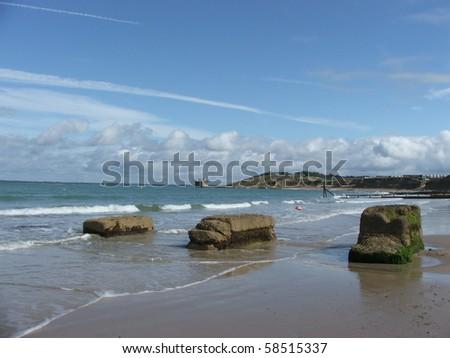 Isle of Wight, UK - stock photo