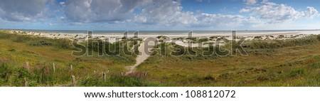 Isle Wangerooge - stock photo
