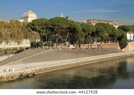 Isola island in Rome