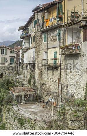 Isolabona - favorable destination in Ligurian Apennines