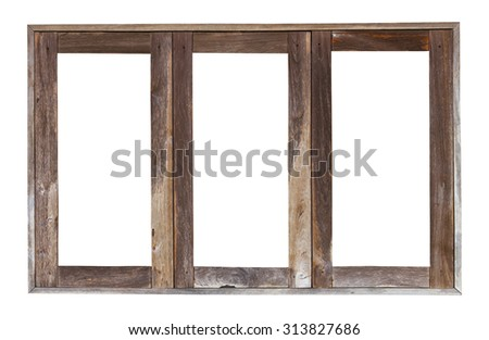 how to clean wooden window frames