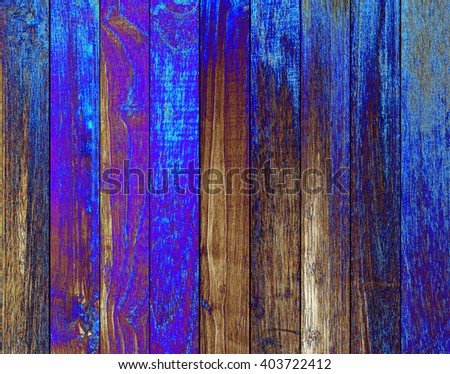 Isolate Wood plank blue  texture background.Collection of  wood planks: concept wood decorate Web pages, book covers, floor and wall tiles, background, interior, office and school boards, billboards. - stock photo