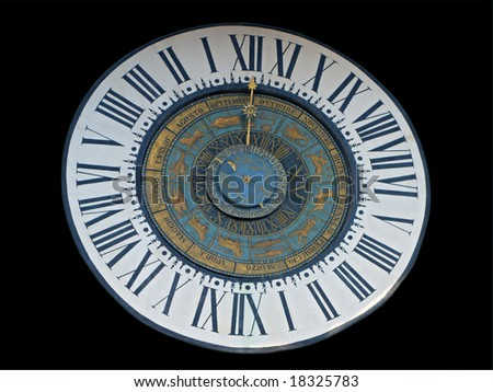 Isolated Astronomical clock