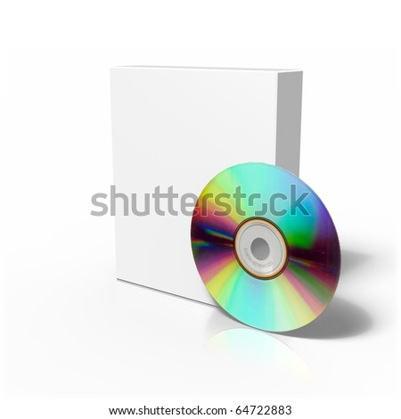 Isolated Box with CD