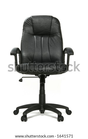 Isolated business chair