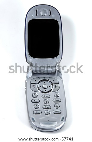 Isolated Cellphone