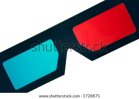Isolated 3D glasses
