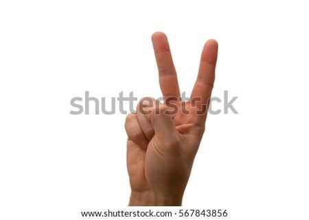 Granny adult hand signals