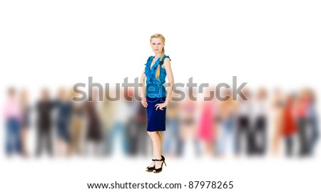 Isolated Idea Focus - stock photo