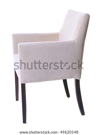 isolated kitchen chair furniture on white