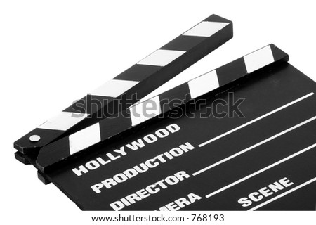 Isolated Movie Slate