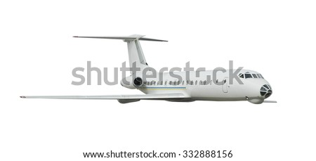 Isolated passenger airplane