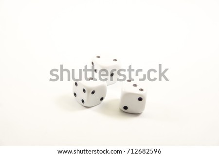 Isolated picture : Dice