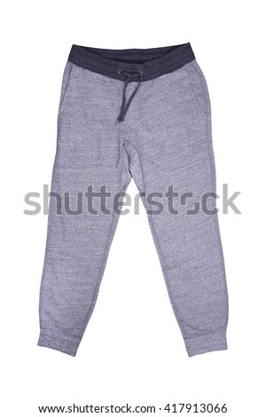 Isolated sweatpants