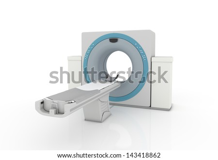 Isolated Tac Machine - Render on white background - stock photo