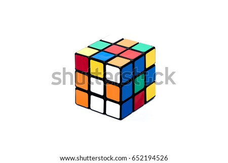 Isolated unsolved rubik