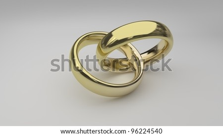 isolated wedding ring