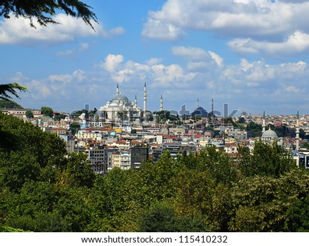 Istanbul City view - stock photo
