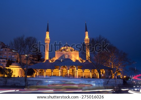 istanbul mihrimah sultan mosque