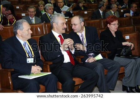 ISTANBUL, TURKEY - MARCH  15:  Armenian Genocide conference held at the University of Istanbul on March 15, 2006 in Istanbul, Turkey.