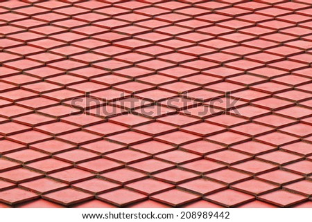 It is Design of roof for pattern and background. - stock photo