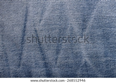 It is Design on jeans for pattern and background. - stock photo