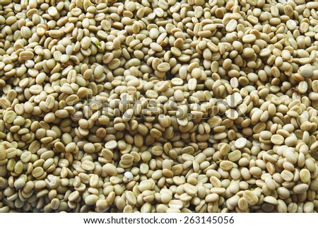 It is Fresh coffee beans for pattern and background. - stock photo