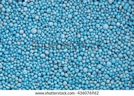 it is urea fertilizer for pattern. - stock photo