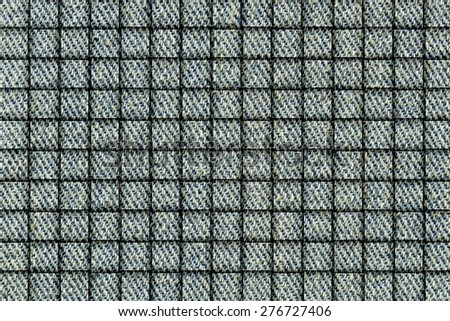 It is Woven Jeans texture for pattern and background. - stock photo