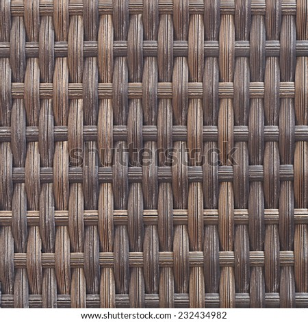 It is Woven rattan texture for pattern and background. - stock photo
