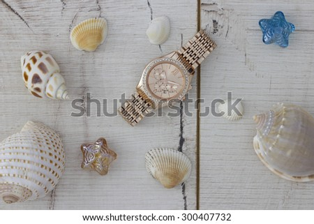 It's time for a summer vacation - stock photo