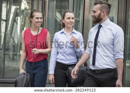 It was a long day but very successful - stock photo
