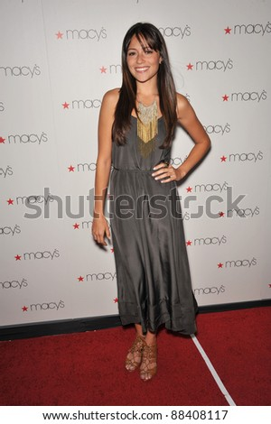 Italia Ricci at Macy's Passport Glamorama Fashion event at the Orpheum Theatre, Los Angeles. September 16, 2010  Los Angeles, CA Picture: Paul Smith / Featureflash