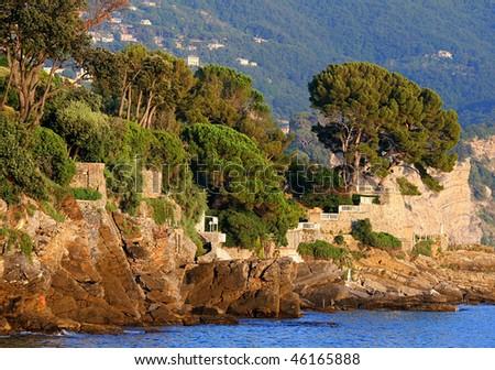 Italian Coast - stock photo