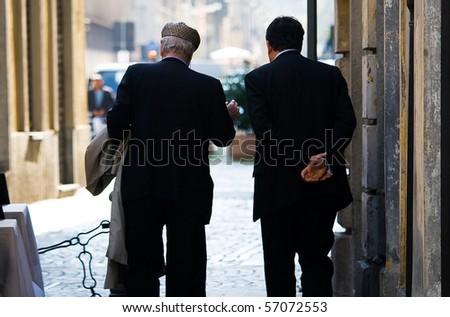 Italian Gentlemen - stock photo