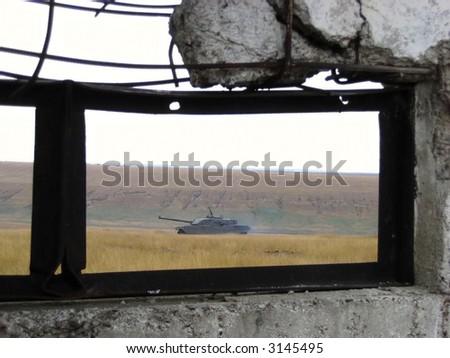 Italian Tank - stock photo