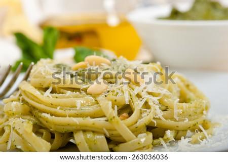 pesto basil pesto pasta with roasted basil pesto chicken pasta basil ...
