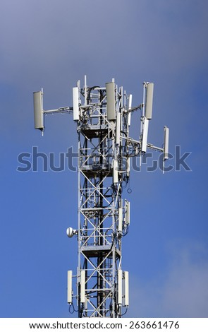 Italy, Communications Tower - stock photo