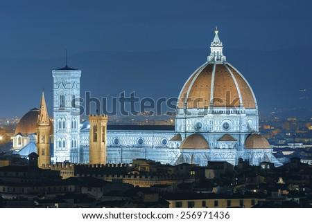 Italy. Florence. Cathedral Santa Maria del Fiore - stock photo