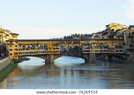 Italy, Florence the Old Bridge