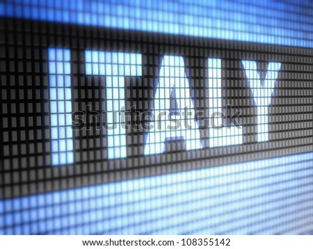 Italy.  Full collection of icons like that is in my portfolio