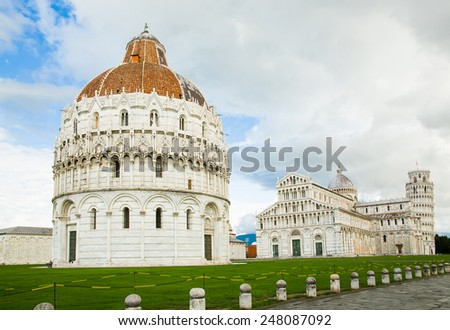 Italy. Pisa. Square of Miracles