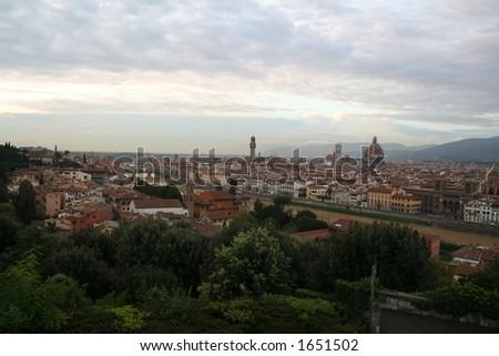 Italy. Toscana. Florence. - stock photo